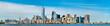 Skyline of Manhattan in New York City, USA