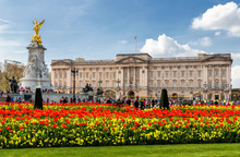Buckingham Palace In London, U...
