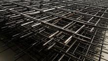 Reinforcement Steel Mesh Background