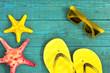 Summer accessories Background./ Summer accessories Background.