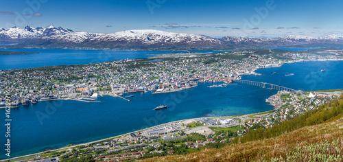 Fotobehang Scandinavië Tromsø