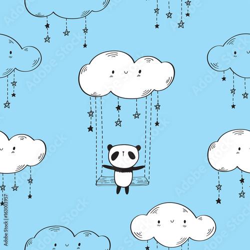 wzor-z-slodkie-pandy-hustawki-chmury-i-gwiazdy-do-tekstyliow-tapety-opakowanie