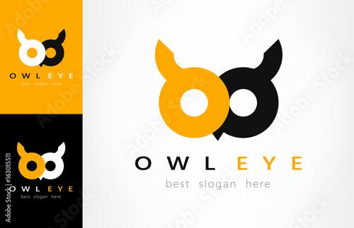 Fototapeta premium logo sowy