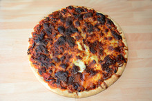 Burned, Over Cooked Pizza, Bad Cooking