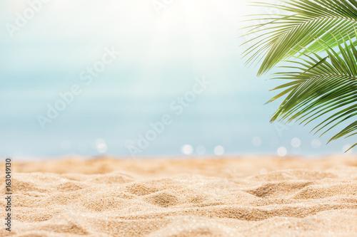 Deurstickers Tropical strand Tropical beach background