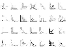 Set Of 28 Corners And Design Elements