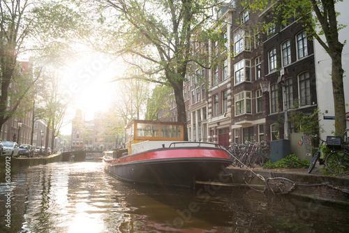 Photo  Amsterdam Boat