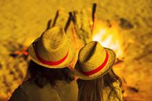Saint John Bonfires In Coruna,...
