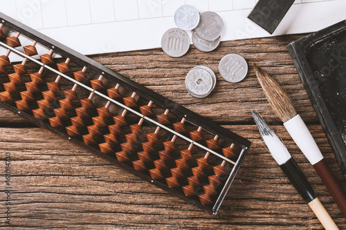 japanese style abacus Canvas Print