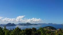 Panoramic View Of Guanabara Bay In Rio De Janeiro Brazil