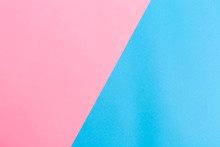 Split Blank Pink And Blue Vibrant Dutone Background