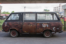 Rusted Old Van