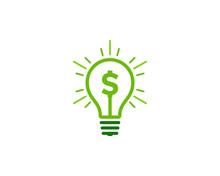 Money Idea Icon Logo Design El...