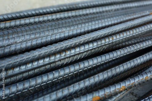 Poster Voies ferrées rebar steel reinforcing rod bar in construction industry