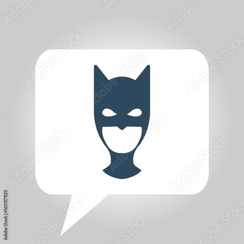 Valokuva  head cover vector icon