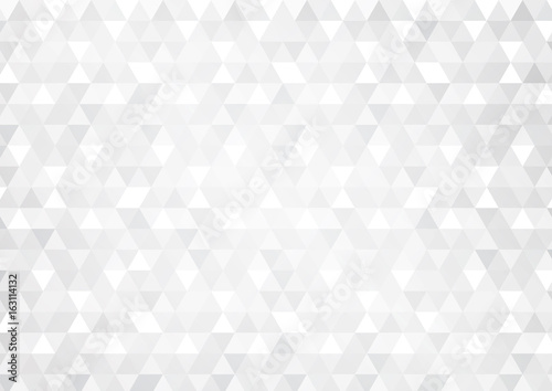 Abstract background with grey glowing triangles