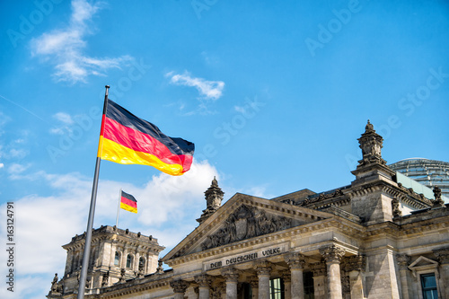 Fotografía  Reichstag building, seat of the German Parliament