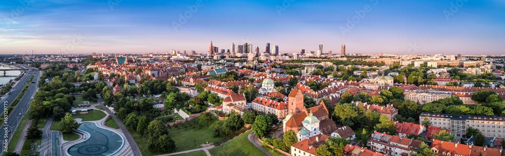 Fototapety, obrazy: Warszawa