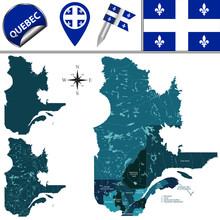 Regions Of Quebec, Canada