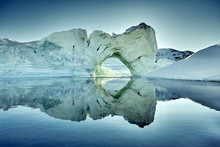 Iceberg Floating In Greenland ...