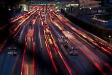 Pendelverkehr Am Grenzübergang Von Tijuana, Mexiko, Mit San Diego, USA