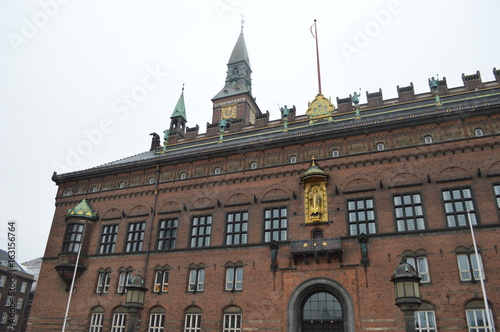 Photo  Town hall square in Copenhagen