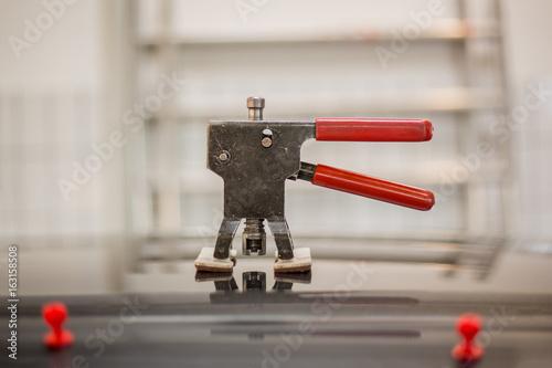 Fotografie, Obraz  Tool for repairing dents in the car