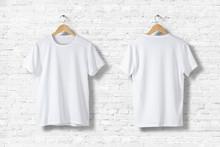 Blank White T-Shirts  Mock-up ...