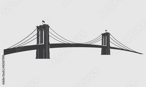 Brooklyn_grey3 Canvas Print