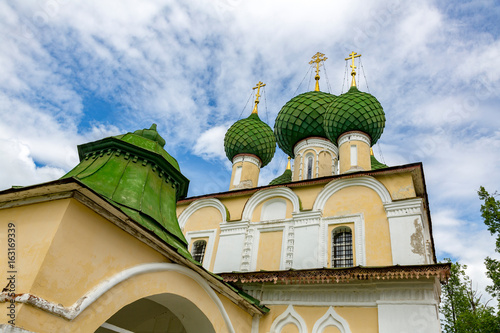 Fotografia, Obraz  UGLICH, RUSSIA - JUNE 17, 2017: Facade of the Church of the Beheading of John the Baptist
