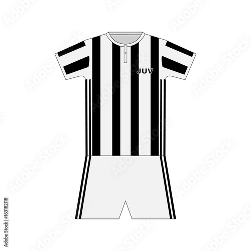 size 40 e362d 7bec3 Football kit. Juventus - Buy this stock vector and explore ...