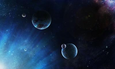 Fototapeta na wymiar планеты космос