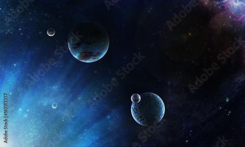 Obrazy na płótnie Canvas планеты космос