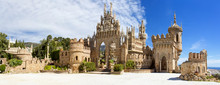 Colomares Castle In Memory Of Christopher Colomb At Benalmadena