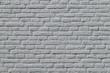 Wall of brick texture painted grey