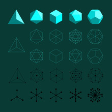 Platonic Solids. Tetrahedron, ...