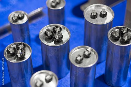 Aluminium can type Film Capacitors Wallpaper Mural
