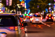 交通イメージ 夜