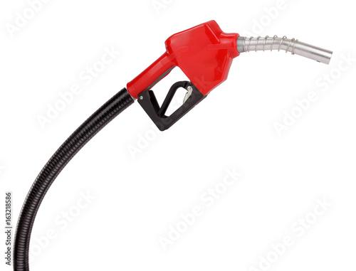 Fototapeta Gasoline pistol pump fuel nozzle
