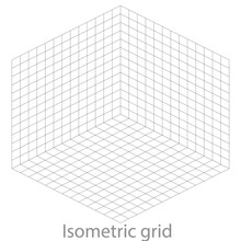 Template Isometric Grid