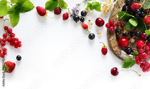Cadres-photo bureau Fruits sweet summer fresh juice fruit background; summer food