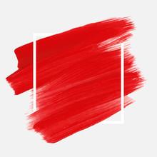 Logo Brush Painted Acrylic Abs...