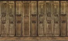 The Retro Style Door. Thai Sty...