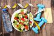 health food concept,diet plan
