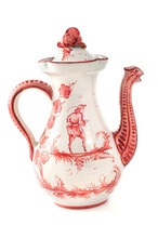 Antique Coffee Pot From 19th C...
