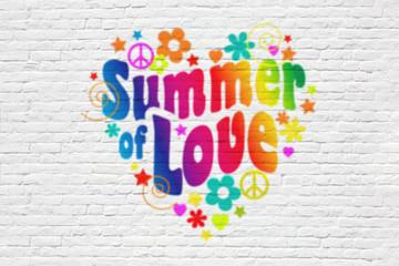 Summer of love ( illustration)