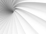 Fototapeta Perspektywa 3d - Abstract White Tunnel Design Background