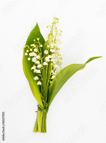 Wall Murals Lily of the valley Bouquet of Lilies of the Valley