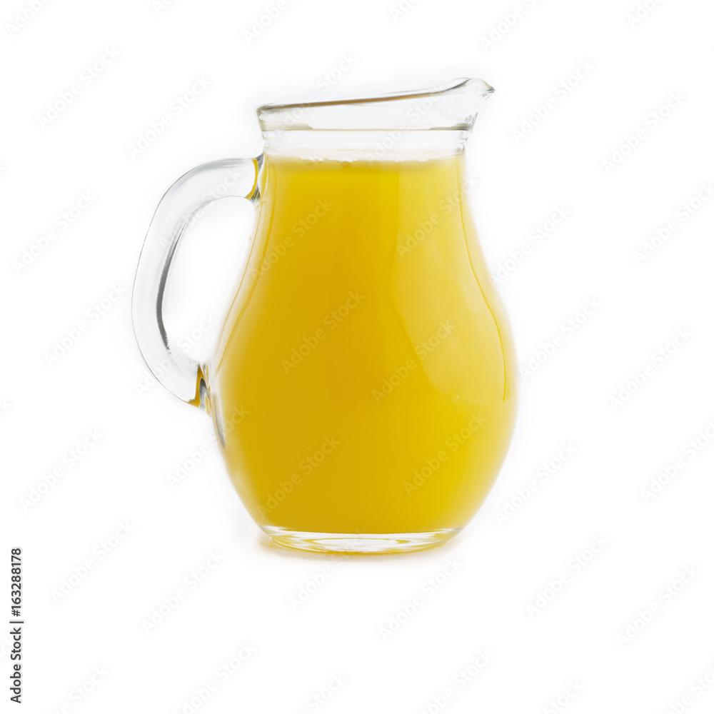 Fototapety, obrazy: juice in heavy glass jug
