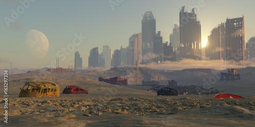 Платно paisaje apocaliptico
